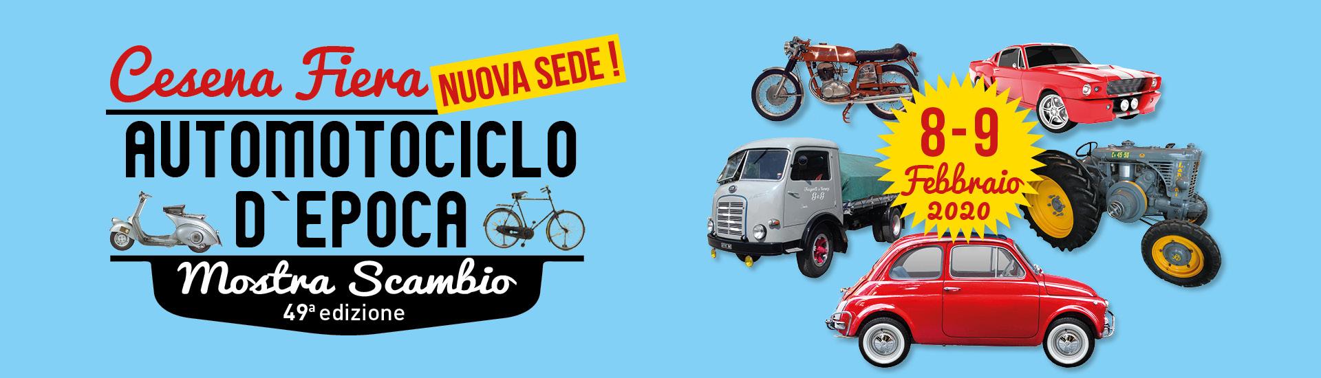 Calendario Mostre Scambio.Mostra Scambio Automotociclo D Epoca Cesena Museo